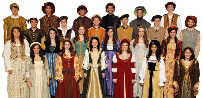 The Langley Madrigals, to perform Tuesday, Dec. 18 along with the five other Choral Department choirs at Langley High.