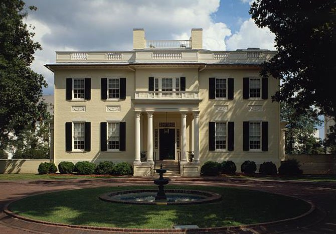 The Governor's Mansion in Richmond has served as the home of Virginia's governors and their families since 1813, when the General Assembly chose the chief executive.