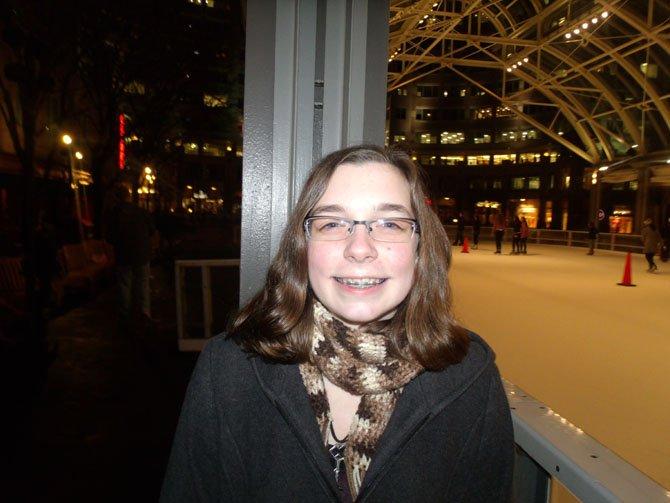 Lauren Morstrom, student from Springfield