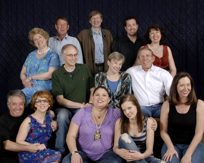 "The cast in the Reston Community Players production pictured is from ""August Osage County."" Seated first row: 