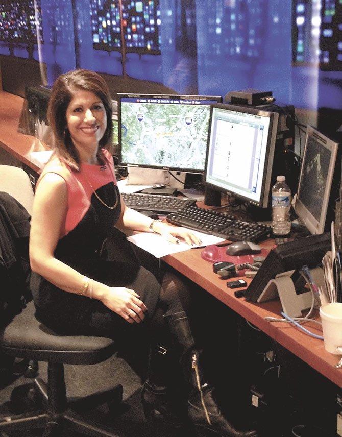 Potomac's WUSA9 reporter/anchor Monika Samtani