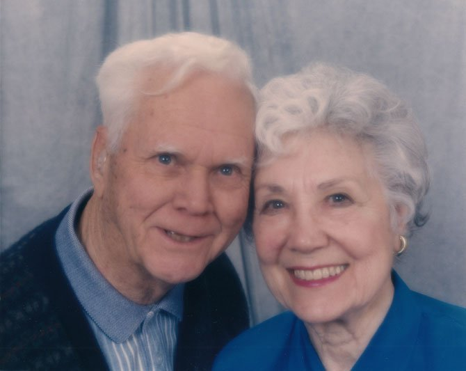 Patrick and Adele Russell of McLean plan to celebrate their 70th wedding anniversary on Sunday, Feb. 24.