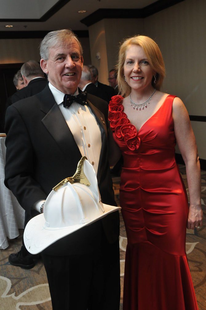 Alexandria Chamber Chairman John Renner and his wife Joan.