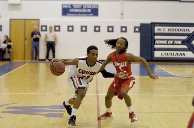 Woodson sophomore point guard Eric Bowles was named Patriot District Player of the Year.