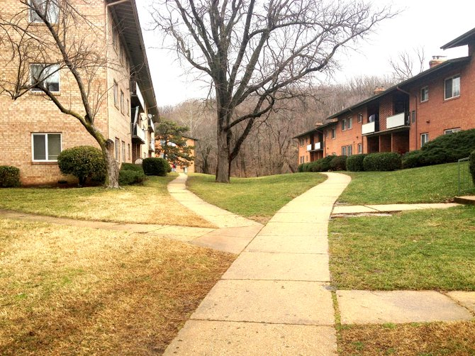 Thousands of low-income residents who live in these low-slung garden apartments on the West End are worried gentrification might push them out of Alexandria.