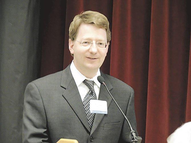 Keynote speaker Dr. Edward Spector, Psy.D.