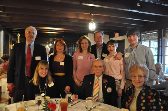 From left: Chris and Beverly Rzepka, Valerie andTom Kapple, Jack and Steven Kapple, Kimberly Kempa, and John and Gerane Sever.