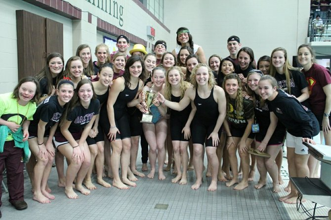 Oakton High School Swim &amp; Dive Girls Team