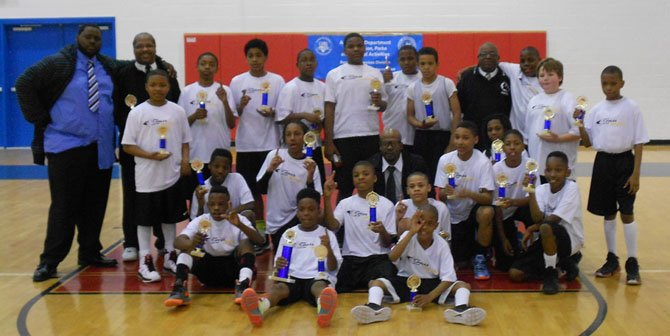 Charles Houston 12u Boy's Team #1 and #2