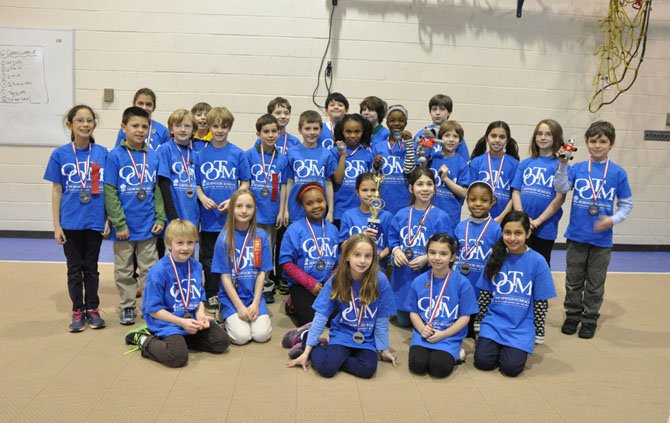 Five teams from Norwood School participated in the Maryland State Tournament of Odyssey of the Mind. All of Norwood's teams qualified for the World Finals, which will be held at Michigan State University in May.