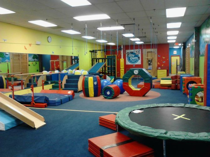 The My Gym in Burke has had a makeover, thanks to new owners and newlyweds Tom and Michelle Dannan.