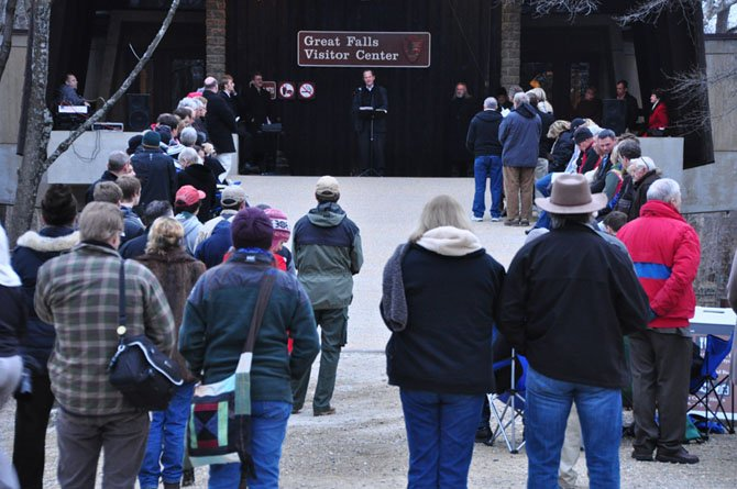 Great Falls Park hosts the annual Easter Sunrise Service Sunday, March 31.