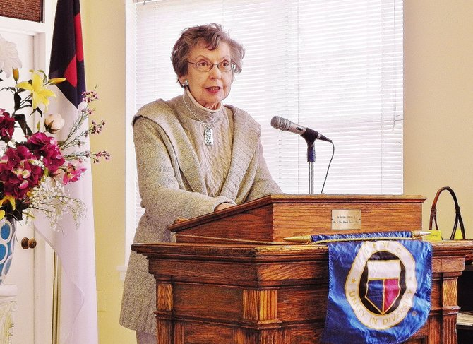 Journalist Maurine Beasley Addresses McLean Woman's Club