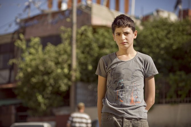"Mohammed El Kurd, a Palestinian teenager and one of the primary characters in filmmaker Rebekah Wingert-Jabi's Peabody Award-winning film ""My Neighborhood."""