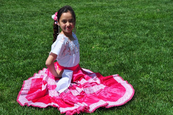 Isabella Tablett has been nominated for a National PTA Reflections award for her Peruvian dance choreography. Tablett is a fourth grader at Great Falls Elementary School.