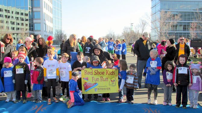 The Our Red Shoe 5K drew families, professional runners and even dogs. The Saturday, April 6, race benefited area Ronald McDonald House Charities.