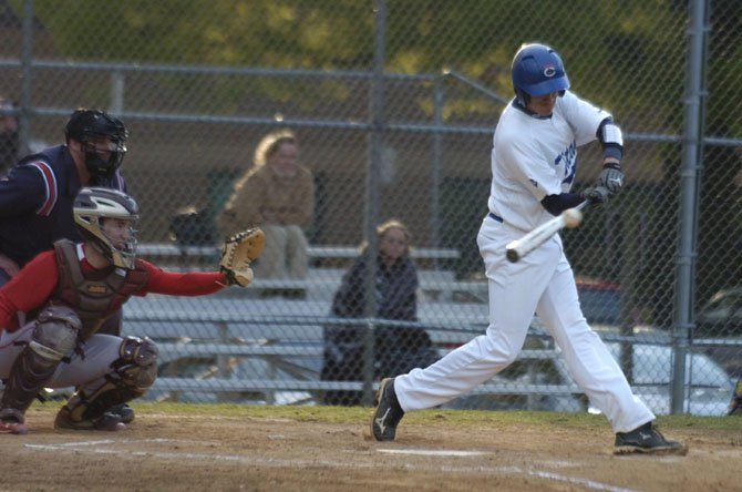 T.C. Williams senior Alec Grosser finished 2-for-3 with a double against Annandale on Monday.