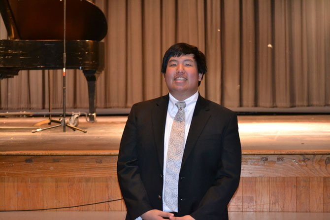 Langley HS Senior Paul Li presented his senior recital of piano solos and original compositions.