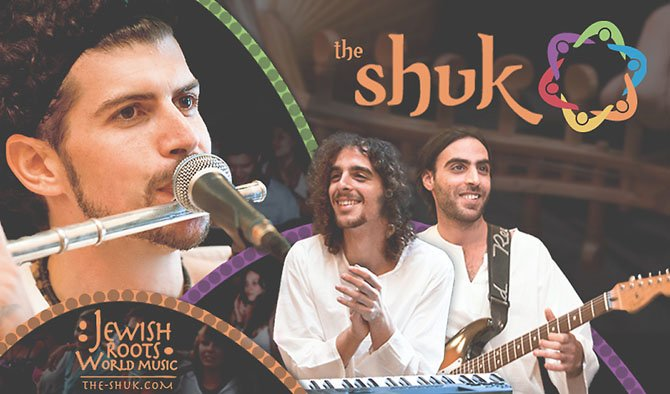 Headlining the festival's entertainment will be the international music group, The Shuk.