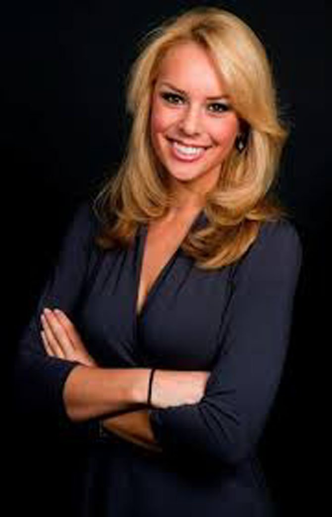Sportscaster Britt McHenry will keynote the Alexandria Sportsman's Club  57th Annual Athletes of the Year awards May 29 at the Westin Carlyle Hotel.