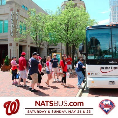 The Ballpark Bus aims to be an extension of ballpark service by transporting fans to the game. Clyde's at Reston Town Center is the second location to be serviced by the cooler-friendly bus.