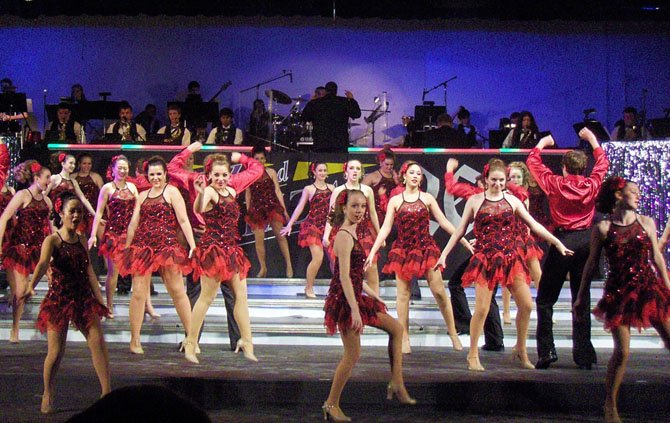 """Hey, Mambo"" was a high-spirited number during the 2012 Jazz & Pizzazz."