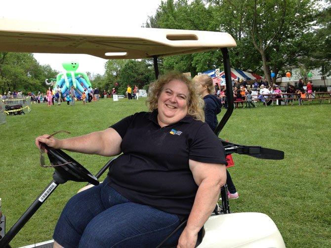 Peggy Moore, McLean Community Center volunteer coordinator.