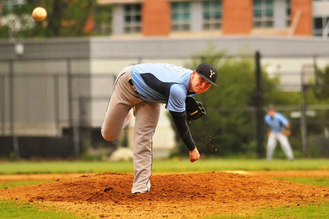 Yorktown pitcher John Yoest threw a complete game in his final high school start on May 24, allowing one run while striking out 11 in seven innings.