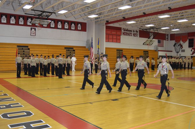 Herndon High NJROTC program had much to celebrate.