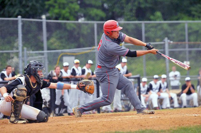 Marshall third baseman Kekoa Yamaguchi finished 2 for 4 with a triple and two RBIs against Centreville on Monday.