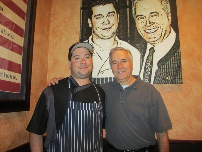 Maplewood Grill, co-owned by father and son Marcel and Chef Paul Kuchler, is one of Vienna's most community-spirited businesses.