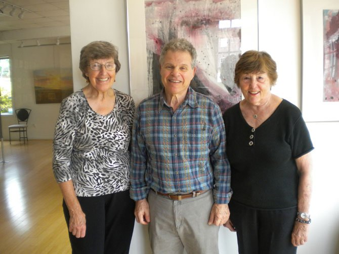 """Paintings by artists Elizabeth Stecher, Richard Kaufman and Millie Shott will be featured at The Art Gallery of Potomac's show """"Brush Strokes."""""""