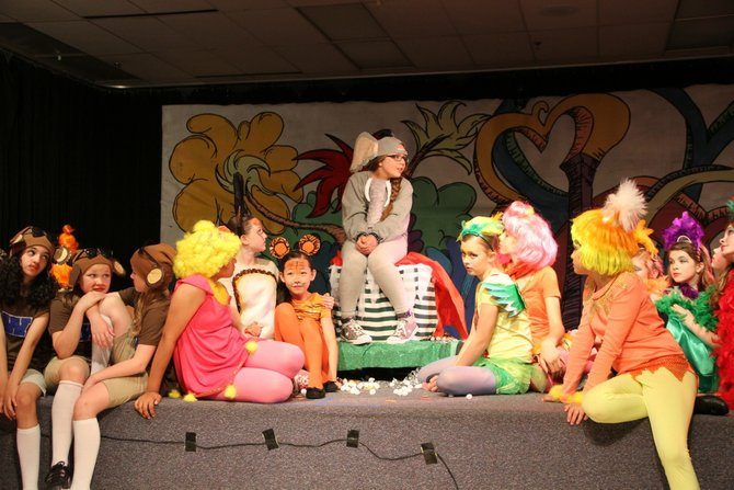 "The house was sold out at Forestville Elementary's production of ""Seussical."""