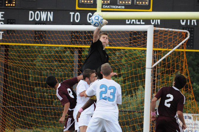 Goalkeeper Lucas Belanger, a 2013 Mount Vernon High School graduate, will play soccer at American University.