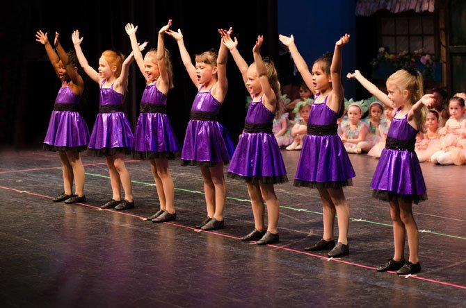"Tiny Dancers' Spring Recital performance of ""Sleeping Beauty."""