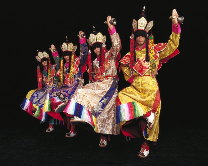 Tibetan Buddhist monks from Drepung Loseling Monastery will perform a sacred dance at Unity of Fairfax Church July 26 at 7:30 p.m.