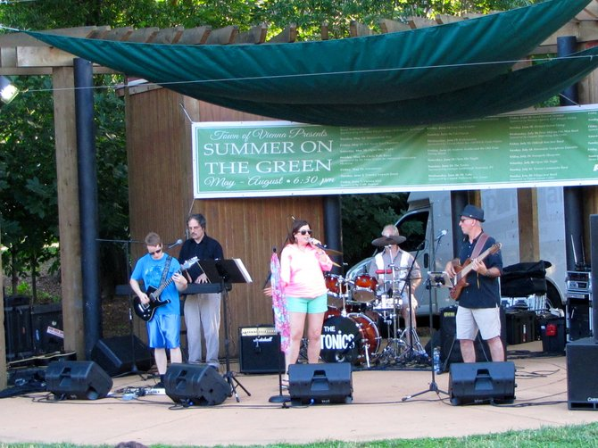 The Tonics perform June 23 as part of the Summer Concert Series at Summer on the Green.