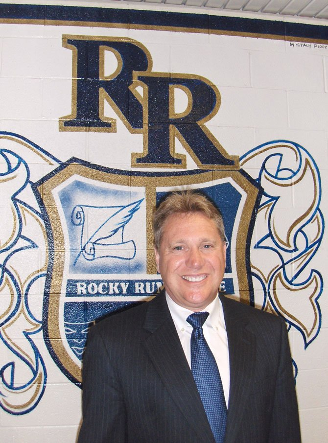 Matt Eline was Rocky Run's principal for the past three years.