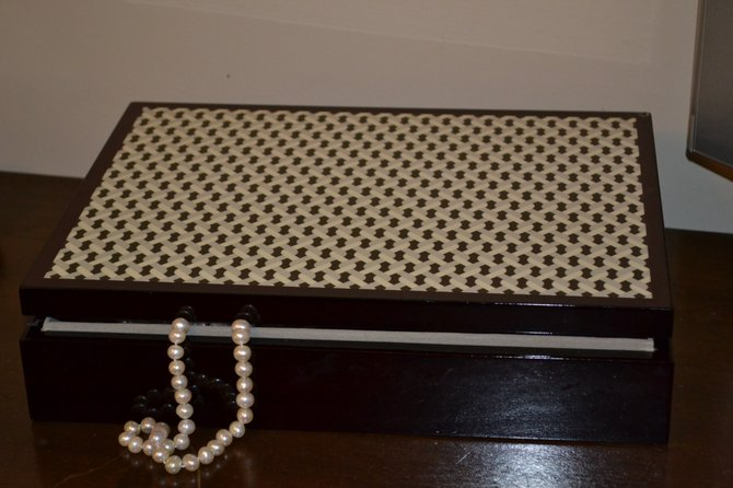 A jewelry box that is kept in a bedroom is one of the least safe places for storing valuable jewelry.