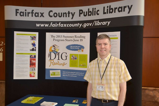Ted Kavich, Program and Educational Services manager at Fairfax County Public Library.
