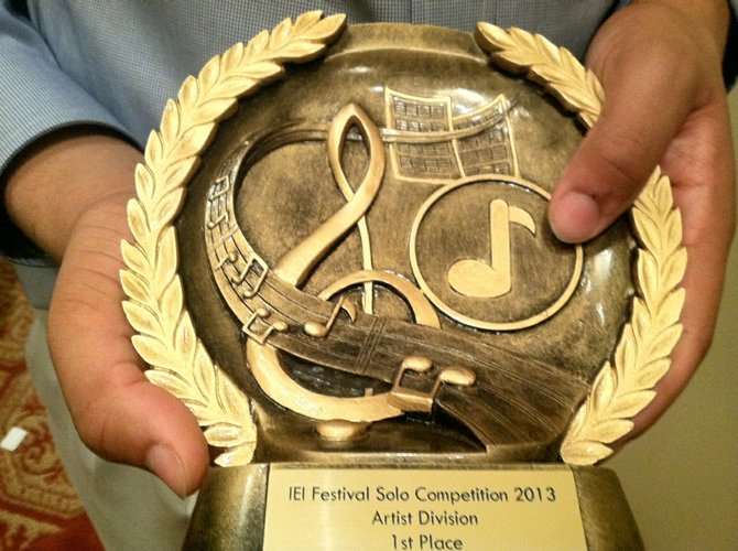 TJ student and McLean native Joe Broom has won the International Euphonium Institute Festival for the second time.