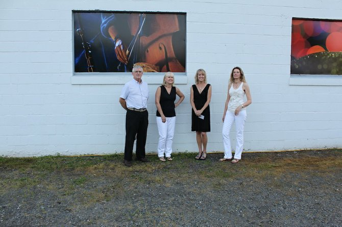 Artists Jim Schlett, Jo Fleming, Lori Simmerman Goll and Christine Lashley.