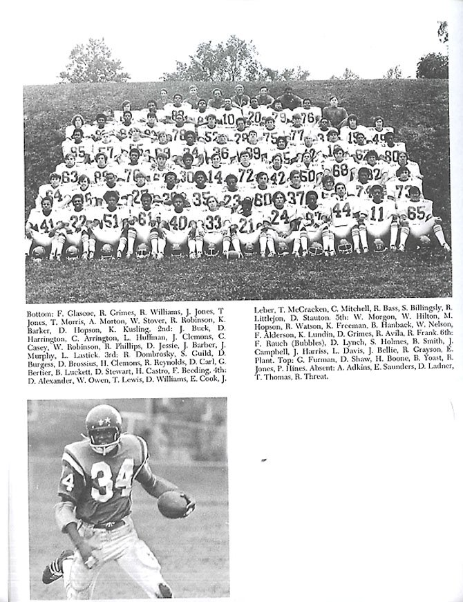 Titan football won championships the year the schools merged.