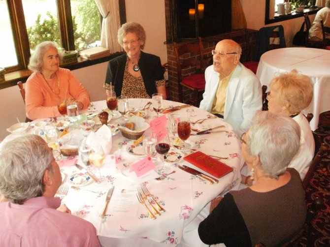 The Great Falls Senior Center (GFSC) held its first member luncheon Wednesday, July 24 at L'Auberge Chez Francois.
