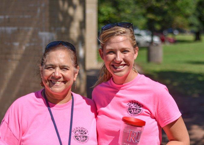 Herndon Summer Fun Camps Director Harriet Van De Riet (left) and Rachel Anzengruber, assistant director of the Herndon Summer Fun Camps (right).