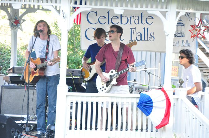 Atlas Road Crew, featuring Great Falls native Patrick Drohan, performs at the weekly Concert on the Green Sunday, Aug. 4.