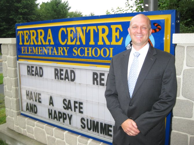 Greg Brotemarkle is the new principal of Terra Centre Elementary School in Burke.