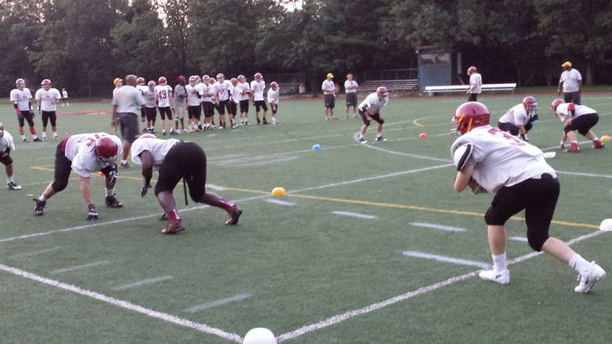 The Bishop Ireton football team finished 1-9 last season.