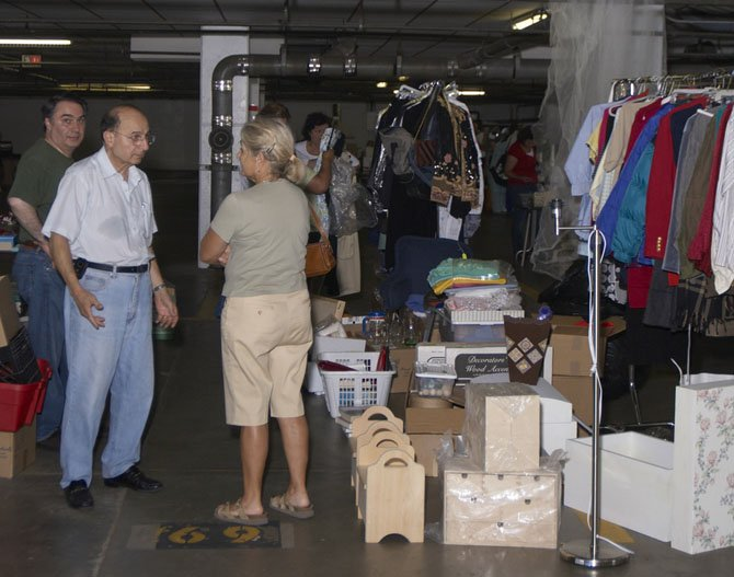 The annual sale boasts more than 50 sellers.