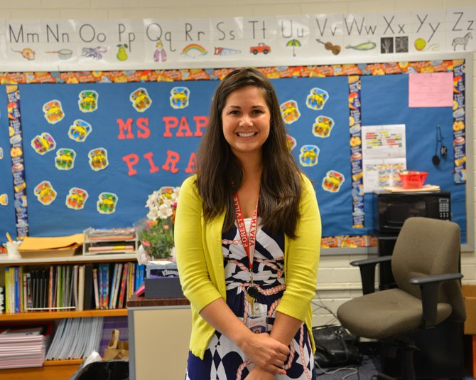 "It's not just the first day for the students. Tuesday was the first day for first grade teacher Nicole Pappas, as well. Pappas taught at Forestville last year as an Instructional Assistant. ""I barely slept last night. I've been planning and getting ready since I found out last June that I would be teaching here,"" said Pappas. ""I am really excited. I even had my family helping me set up and decorate the classroom last week."""